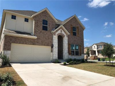 Round Rock Single Family Home For Sale: 5922 Carrara Pass
