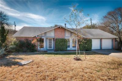 Travis County, Williamson County Single Family Home For Sale: 11501 Natrona Cv