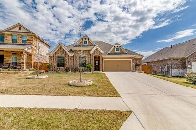 Round Rock TX Single Family Home For Sale: $369,500