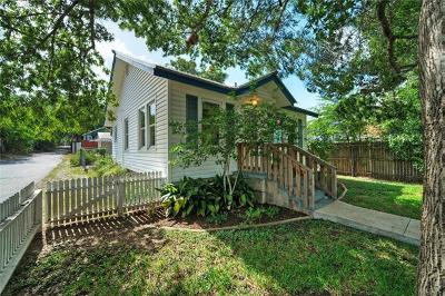 Austin Single Family Home For Sale: 1807 S 5th St