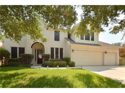 Round Rock Single Family Home For Sale: 2304 Masonwood Way