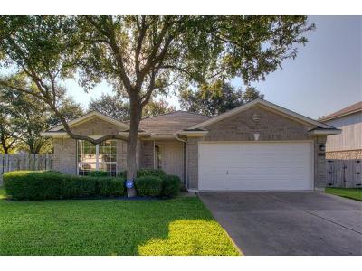 Cedar Park Single Family Home Pending - Taking Backups: 1220 Brashear Ln