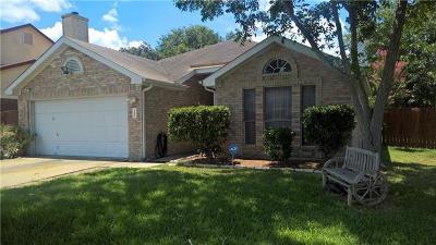 Single Family Home For Sale: 6405 Spring Fever Trl