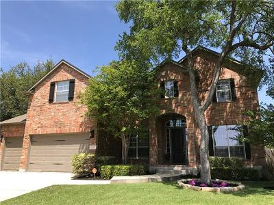 Round Rock Single Family Home Pending - Taking Backups: 3269 Goldenoak Cir