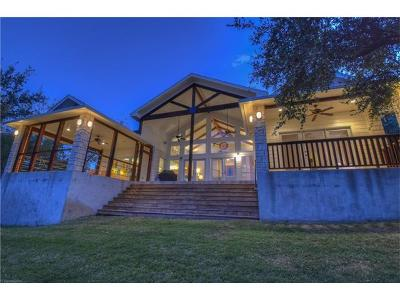Burnet Single Family Home Active Contingent: 518 Morgan Creek Dr