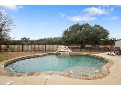 Round Rock Single Family Home For Sale: 4120 Massey Way