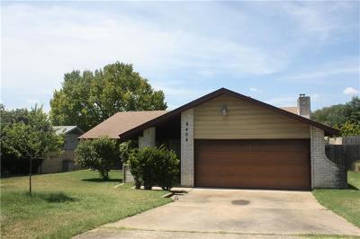 Austin Single Family Home For Sale: 9408 Hunters Trce E