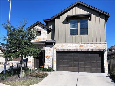 Hays County, Travis County, Williamson County Single Family Home For Sale: 9921 Milla Cir #63