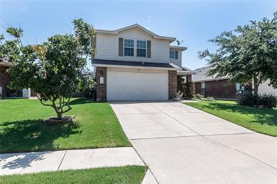Leander Single Family Home For Sale: 408 Moorhen Cv