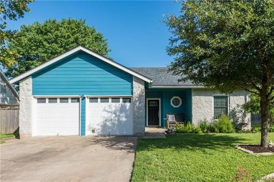 Round Rock Single Family Home For Sale: 1712 Foxfire Dr