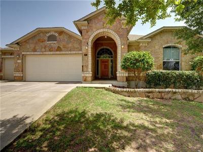 Round Rock Single Family Home For Sale: 2905 Todd Trl