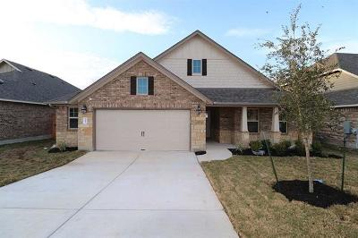 Round Rock Single Family Home For Sale: 3005 Diego Dr
