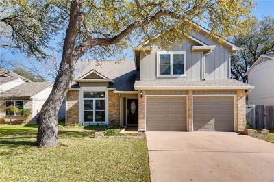 Cedar Park Single Family Home For Sale: 1410 Dove Hill Dr