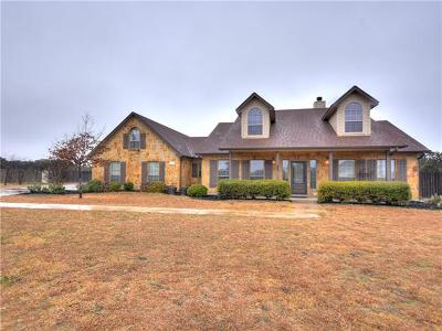 Liberty Hill Single Family Home Pending - Taking Backups: 616 Speed Horse