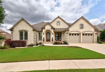 Cedar Park Single Family Home For Sale: 2702 Brindisi Way