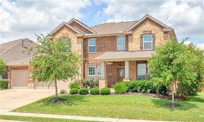 Cedar Park TX Single Family Home For Sale: $559,000