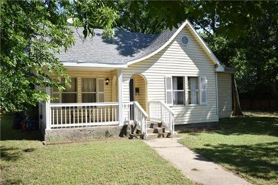 Lampasas Single Family Home Pending - Taking Backups: 205 W 5th St