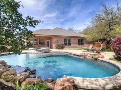 Round Rock Single Family Home Pending - Taking Backups: 3819 Sapphire Loop