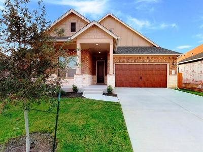 Hutto Single Family Home For Sale: 503 Hereford Loop
