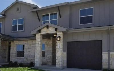 Leander Condo/Townhouse For Sale: 2045 Local Rebel Loop