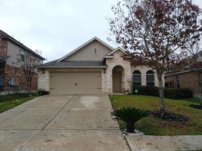Pflugerville Single Family Home For Sale: 3012 Dusty Chisolm Trl