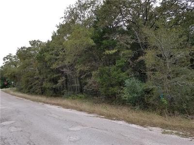 Bastrop County Residential Lots & Land For Sale: Shawnee Dr