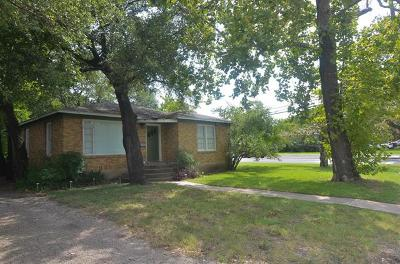 Single Family Home For Sale: 1200 Justin Ln