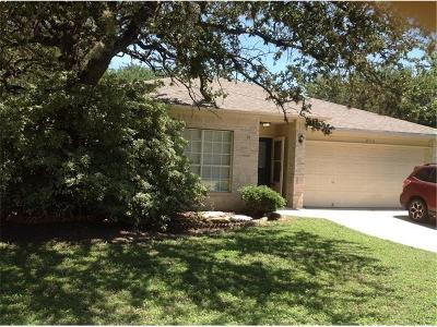 Cedar Park Single Family Home For Sale: 2110 N Celia Dr