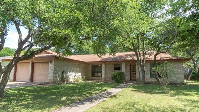 Round Rock Single Family Home For Sale: 1103 Lime Rock Dr