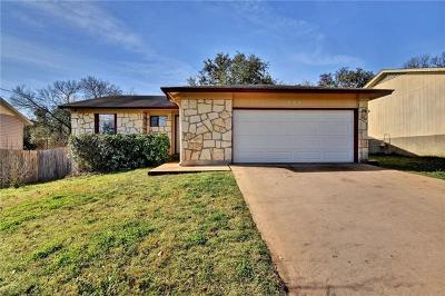 San Marcos Single Family Home Pending - Taking Backups: 2005 Castle Bluff Dr