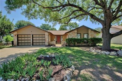 Round Rock Single Family Home Pending - Taking Backups: 209 Hickok St