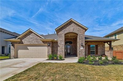 Leander Single Family Home For Sale: 2817 Mossy Springs Dr
