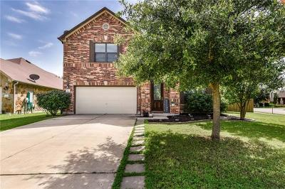 Round Rock Single Family Home For Sale: 2701 Claremont Ct