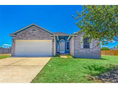 Hutto Single Family Home Pending - Taking Backups: 106 Willow Dr