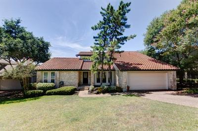 Austin Single Family Home For Sale: 5909 Rising Hills Dr