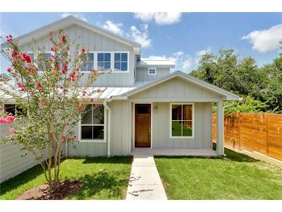 Austin Single Family Home For Sale: 2208 Greenwood Ave #A