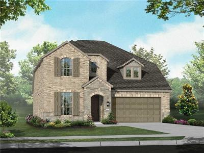 Round Rock TX Single Family Home For Sale: $394,222