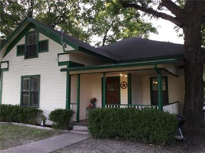 Williamson County Single Family Home Pending - Taking Backups: 305 E Broadway St