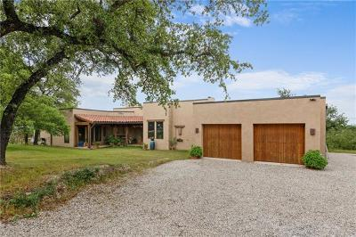 Burnet County Single Family Home For Sale: 478 Live Oak Ln