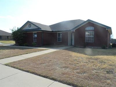 Killeen TX Single Family Home For Sale: $116,000