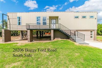 Lago Vista Single Family Home For Sale: 20206 Boggy Ford Rd