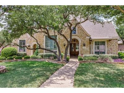 Round Rock Single Family Home Active Contingent: 2700 Collingwood Dr