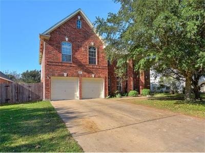 Georgetown Single Family Home For Sale: 408 Autumn Trl
