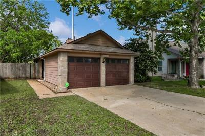 Travis County Single Family Home Pending - Taking Backups: 14433 Robert I Walker Blvd