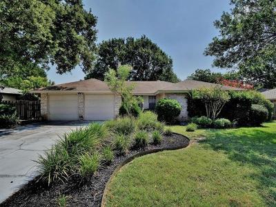 Georgetown Single Family Home For Sale: 3409 Broken Spoke Trl