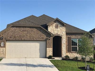 Round Rock Single Family Home For Sale: 5911 Marino Cv