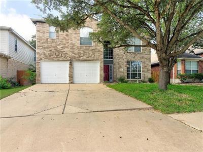 Cedar Park Single Family Home For Sale: 1613 Shady Creek Trl