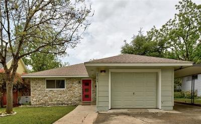 Travis County Single Family Home For Sale: 2709 W 49 1/2 St