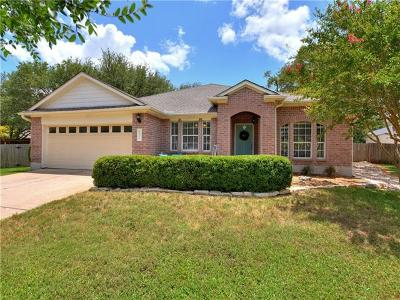 Cedar Park Single Family Home For Sale: 1801 Warwick Cv