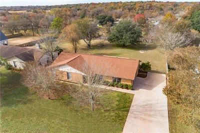Hays County, Travis County, Williamson County Single Family Home Pending - Taking Backups: 533 Sendero Verde St